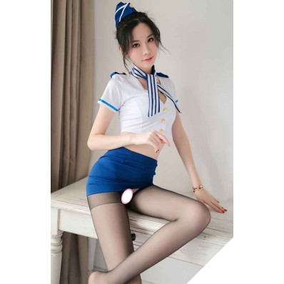 Sexy Stewardess Uniform