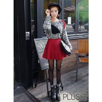 Candy-colored Skirt - 糖果色短裙