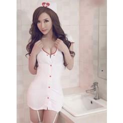 Sexy Nurse Uniform (with white socking)