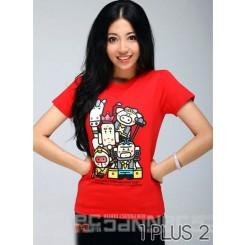 The spoof T-shirt - 恶搞西游记短袖T恤