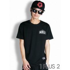 NHIZ skull T-shirt-新品NHIZ骷髅头短袖T恤