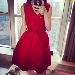 Woolen Vest Skirt - 毛呢背心裙