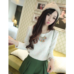 Lace Shirt - 加厚蕾丝衫
