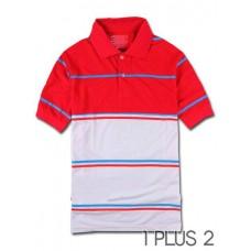 Simple Striped POLO Shirt - 简约翻领条纹POLO衫