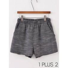 High-Waist Short - 复古高腰短裤