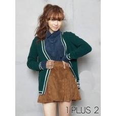 Elastic Skirt - 鹿皮绒松紧腰短裙