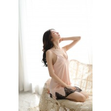 Deep V Lace Nightdress