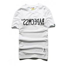 Short-sleeved T-shirt - CMSS倒字母短袖T恤