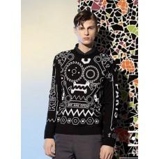 Sweater - 民族宗教图腾拉绒卫衣外套