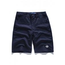 Casual Pants - 简约纯色全棉休闲裤短裤
