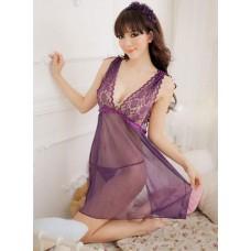 Temptation Lace Tulle Transparent Night Skirt