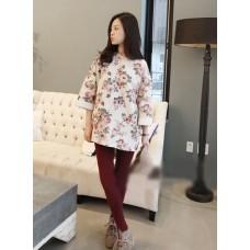 Rose loose sweater- 花朵玫瑰花宽松卫衣