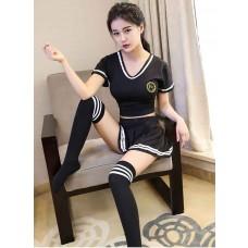Sporty School Girl